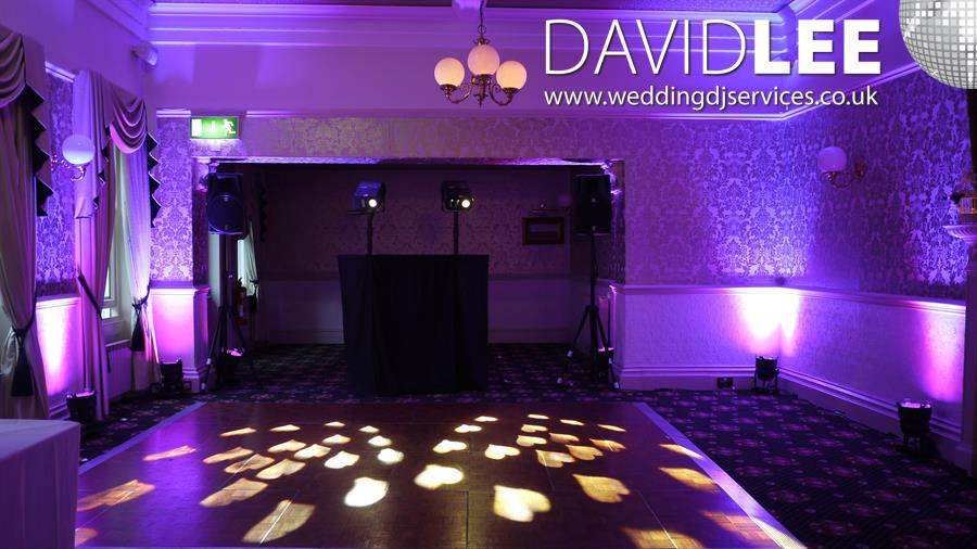 Bartle Hall Preston DJ and Uplighting