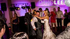 Bride and groom dancing to the Last Dance
