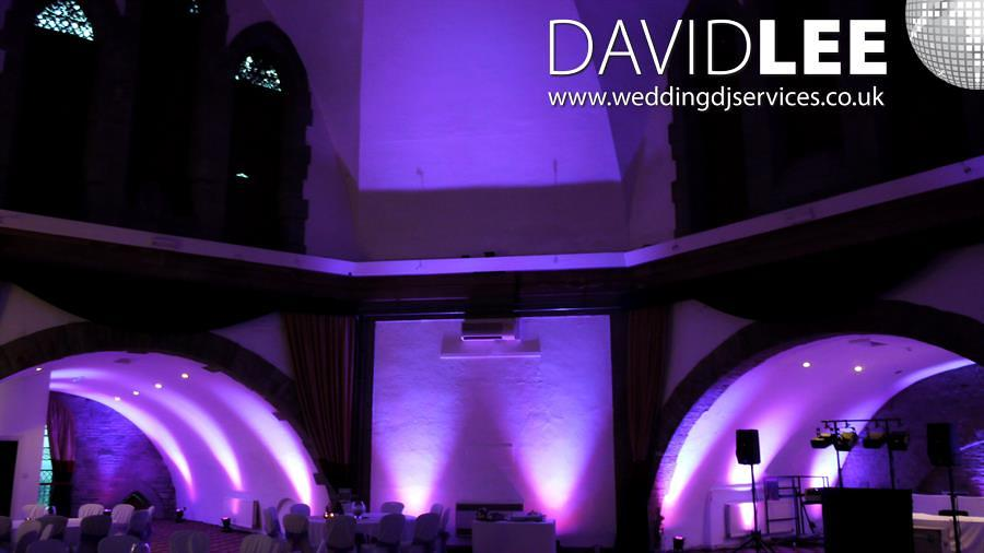Shrigley Hall Wedding DJ & Uplighting