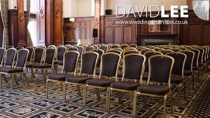 Wedding Ceremony Music Set-up
