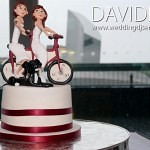 Manchester Wedding Cake