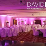 Pink Lighting at Worsley Marriott