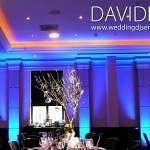 Blue Venue Uplighting Manchester