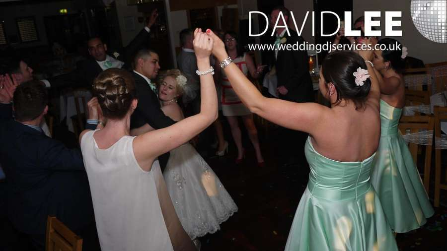 Brookdale Golf Club Wedding DJ and Lighting