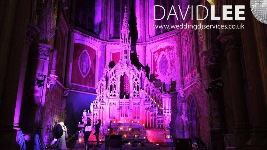 Gorton Monastery Wedding DJ Services