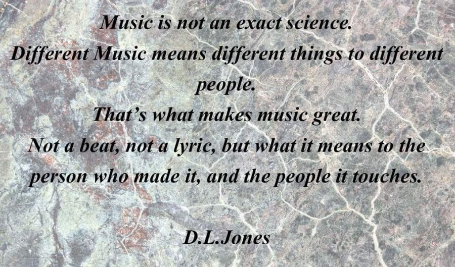 Music Is not Science