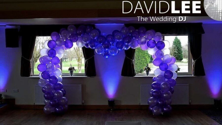 Blackley Golf Club Wedding Lighting