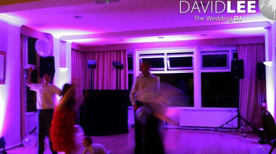 venue lighting at Bramall Golf Club