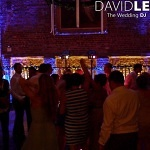 DJ and uplighting at Meols Hall