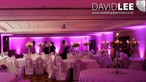 Pink Uplighting Hire service
