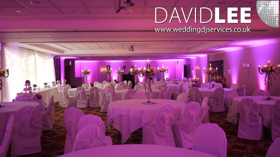 Wedding Lighting at Marriott Hotel