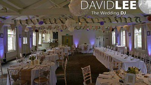 Quarry Bank Wedding  Uplighting