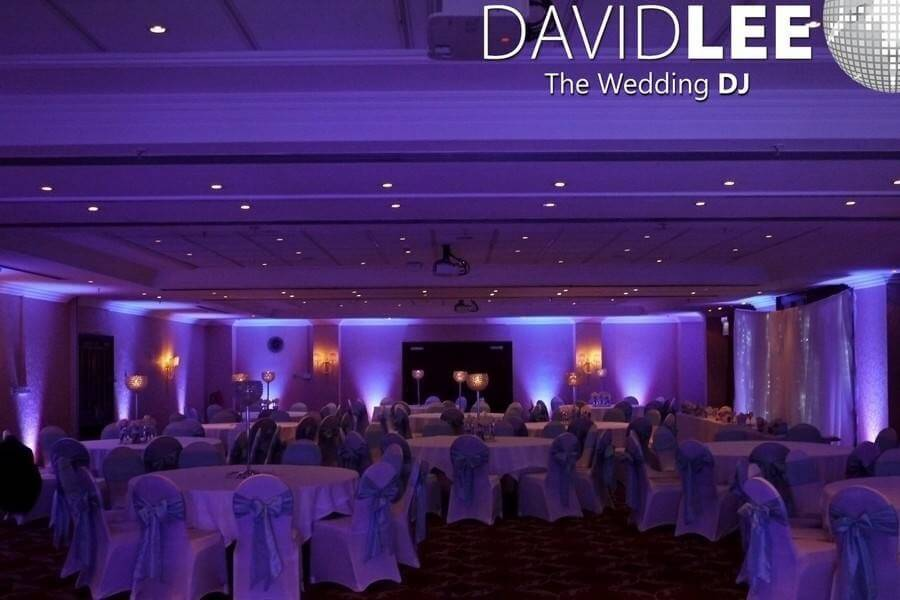 Purple Venue Lighting  Worsley Park Marriott
