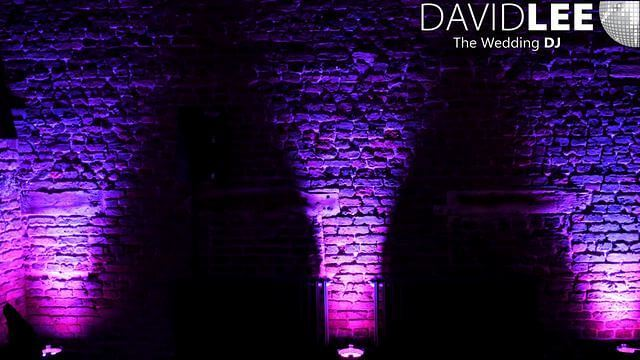 Wedding Lighting at Meols Hall